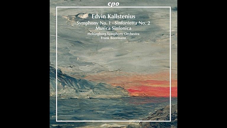 CD-omslag till symfonier av Edvin Kallstenius.