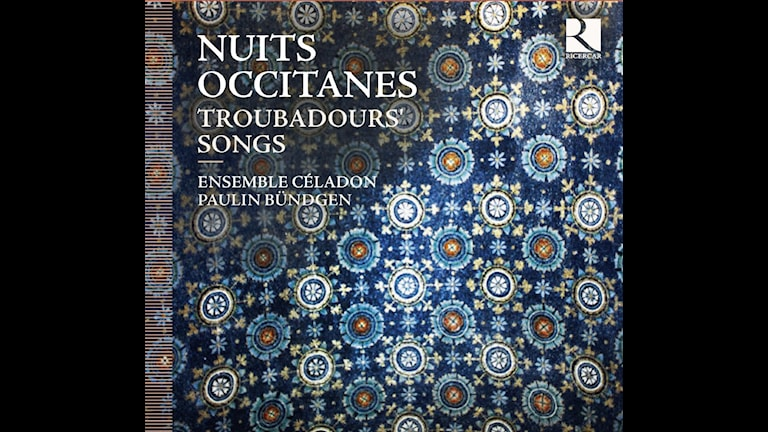 CD-omslag till trubadursånger av Nuits Occitanes.