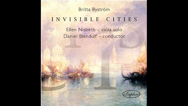 CD-omslag till Invisible Cities av Britta Byström.