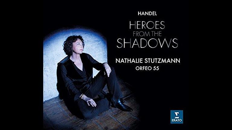 CD-omslag till Händels Heroes from the shadows med Nathalie Stutzmann.