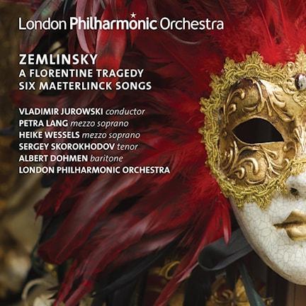 CD-omslag till Verk av Alexander Zemlinsky framförda av Londons filharmoniker ledda av Vladimir Jurowski.