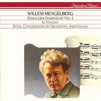 CD-omslag till Willem Mengelbergs Mahler.