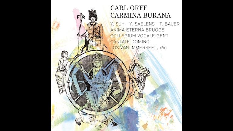 CD-omslag till Carmina Burana av Carl Orff med Jos van Immerseel.