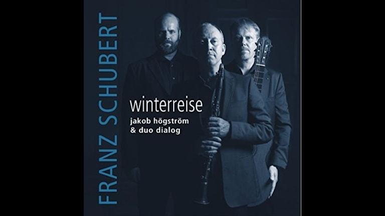 CD omslag till Winterreise av Franz Schubert.