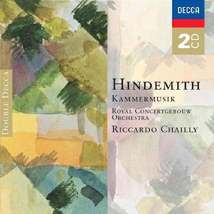 CD-omslag till Paul Hindemiths Kammermusik