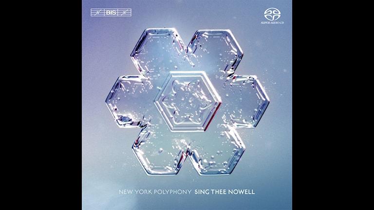 CD-omslag till Sing thee nowell med New York Polyphony.