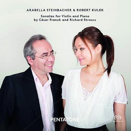 Bild: Arabella Steinbacher och Robert Kulek