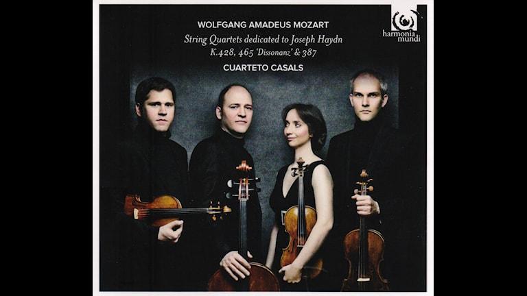 Bild: Mozart stråkkvartetter 14, 16 och 19 med Casals-kvartetten