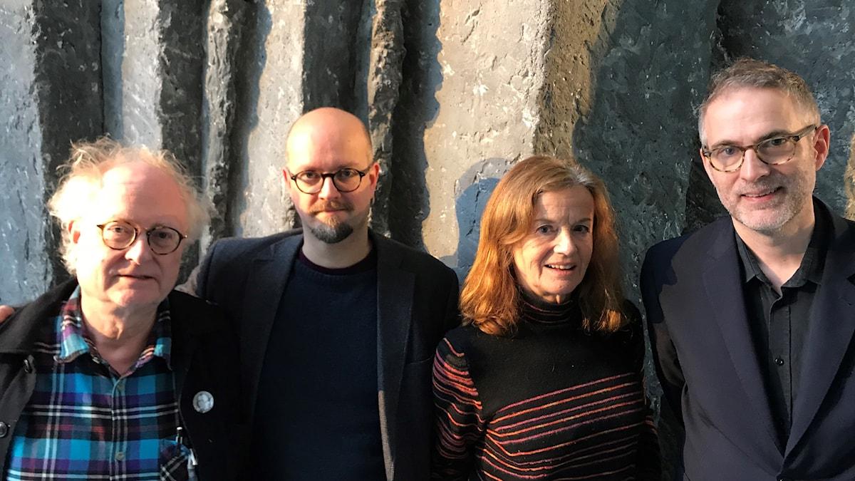 Bengt Forsberg, David Björkman, Camilla Lundberg och Johan Korssell.