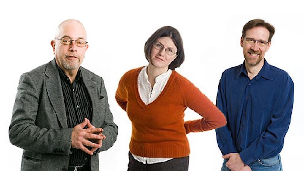 Lars Sjöberg, Per Feltzin och Sara Norling
