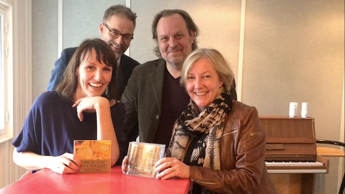 Ella Petersson, Johan , Tony Lundman och Tithi Hahn.