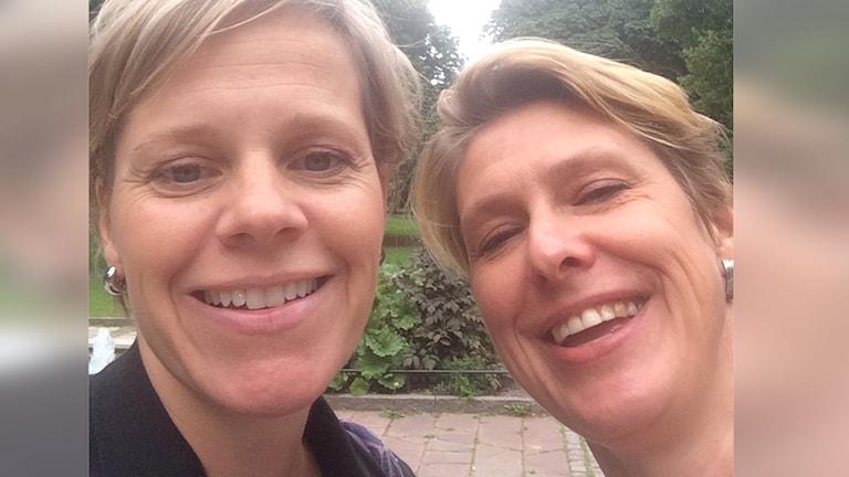 Sofia Nyblom och Camilla Tilling