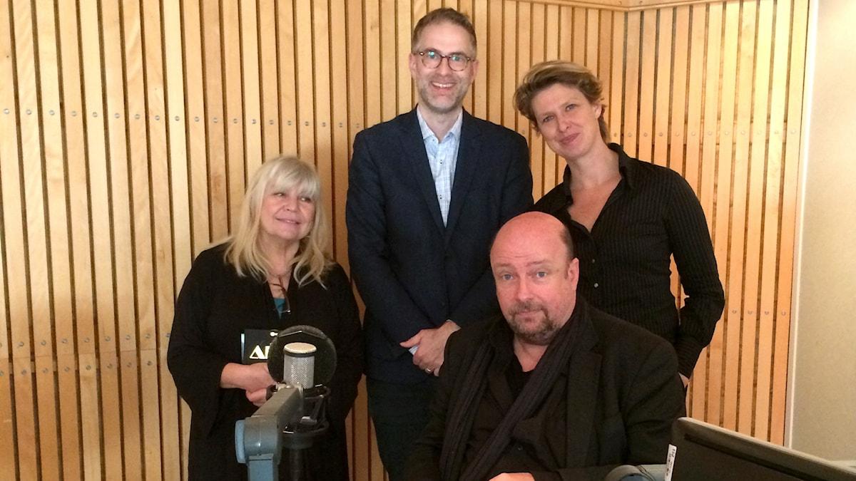 Bodil Asketorp, Johan Korssell, Magnus Lindman och Sofia Nyblom