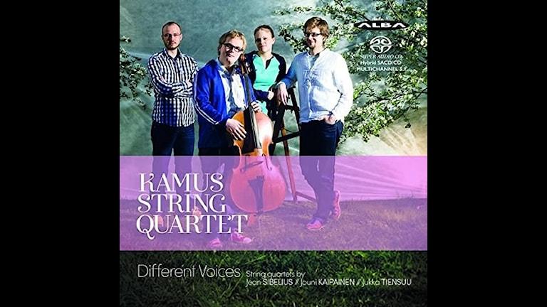 Kamus-kvartetten spelar stråkkvartetter av Sibelius, Kaipainen och Tiensuu