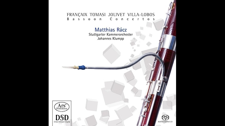 Fagottisten Matthias Rácz spelar fagottkonserter av bl.a. Tomasi och Jolivet.
