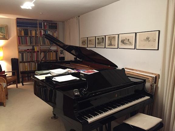 Hemma hos pianoduon Tal och Groethuysen