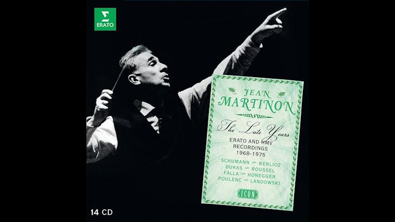 Jean Martinon dirigerar valda verk av Albert Roussel