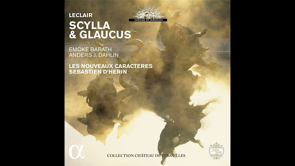 Den svenske tenoren Anders J Dahlin sjunger i  J-M Leclairs opera Scylla och Glaucus