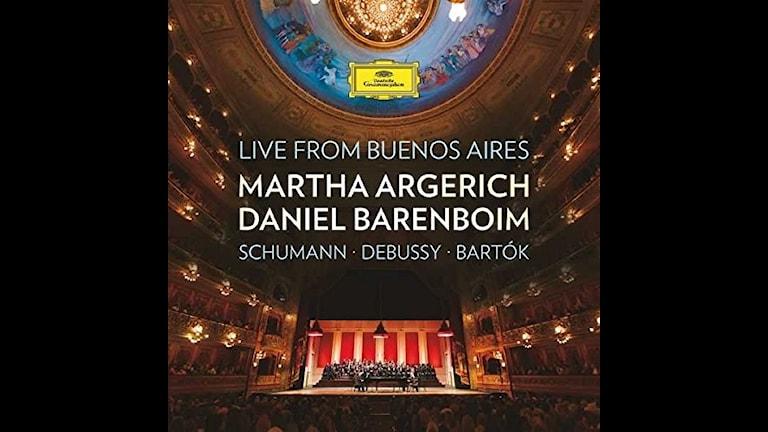 Vännerna Martha Argerich och Daniel Barenboim i innerligt samarbete