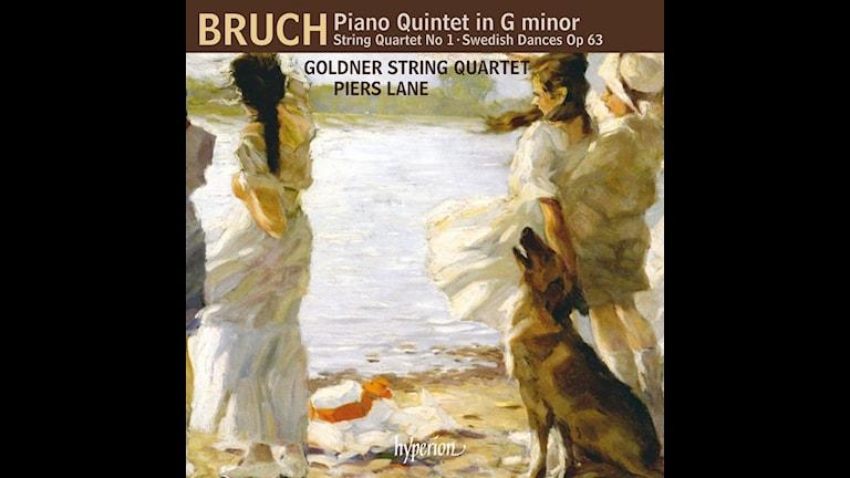 Goldner-kvartetten och Piers Laine spelar kammarmusik av Bruch