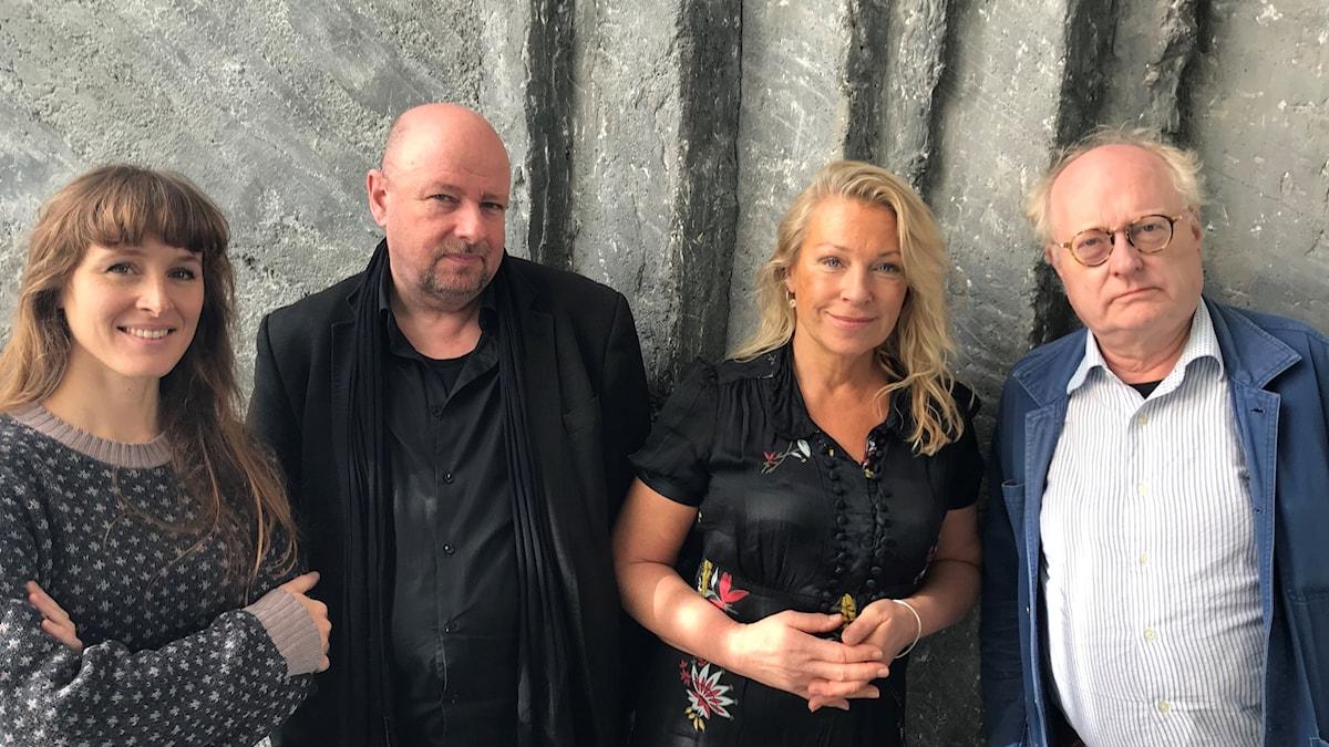 I Musikrevyns panel den här veckan finns Aurélie Ferriere, Magnus Lindman, Katarina Ewerlöf och Bengt Forsberg.