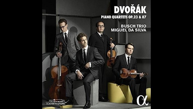Busch-trion och da Silva spelar pianokvartetter av Dvorák