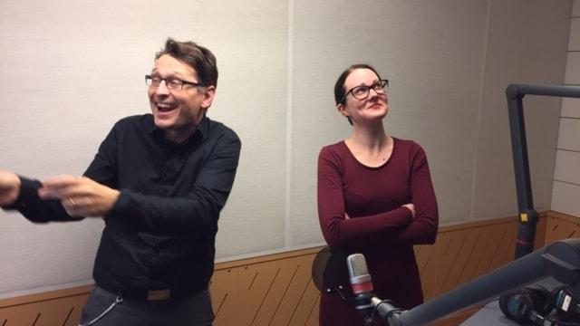 Alexander Freudenthal och Johanna Paulsson serverar musik i mindre skala.