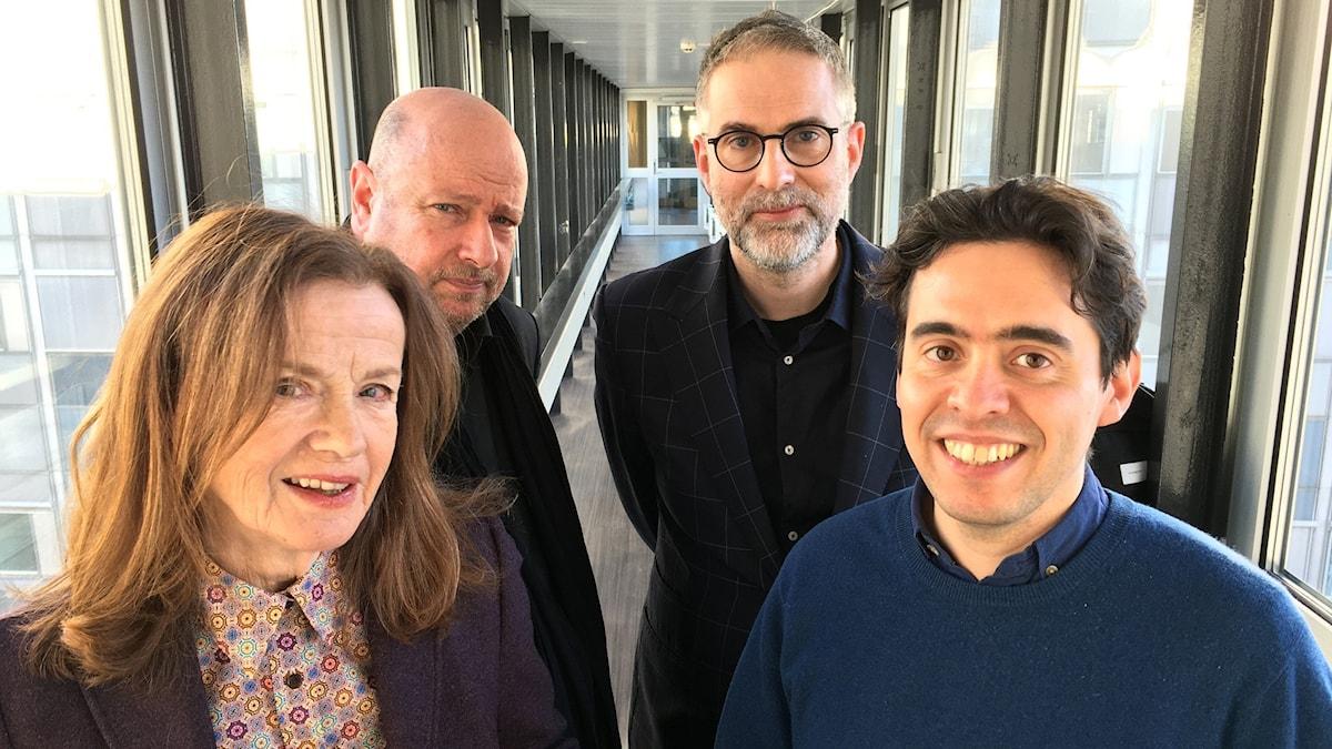 Panelen denna vecka: Camilla Lundberg från P2:s Klassiska podden, dramaturg Magnus Lindman och musikkritikern Nicholas Ringskog Ferrada-Noli. Johan Korssell programleder såklart.