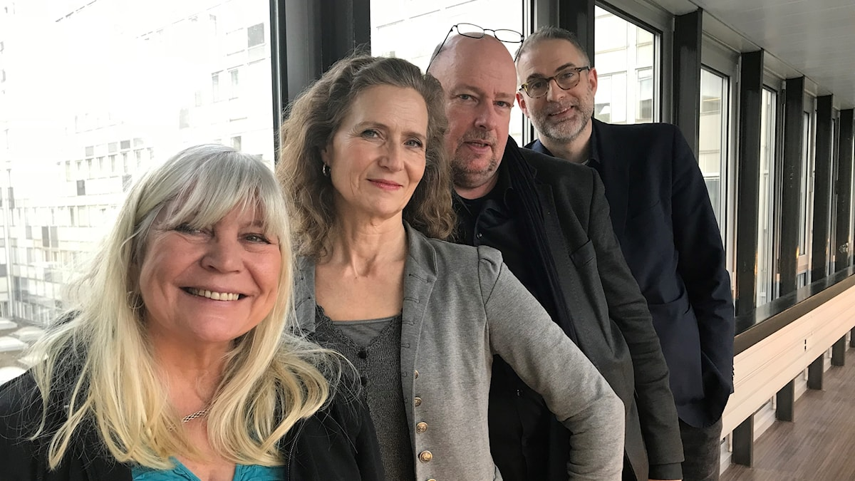Bodil Asketorp, Boel Adler, Magnus Lindman, Johan Korssell.
