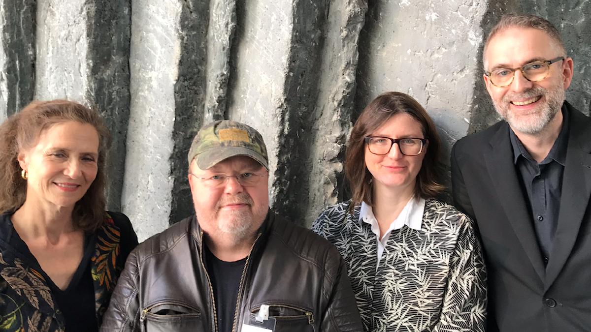 Veckans panel består av P2:s Boel Adler, artisten Kalle Moraeus och Sara Norling, programledare för P2 Live.