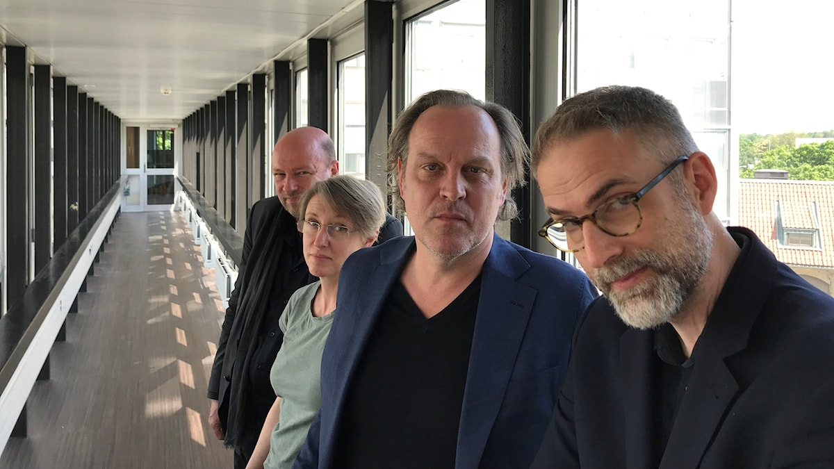 Magnus Lindman, Kati Raitinen, Tony Lundman och Johan Korssell.