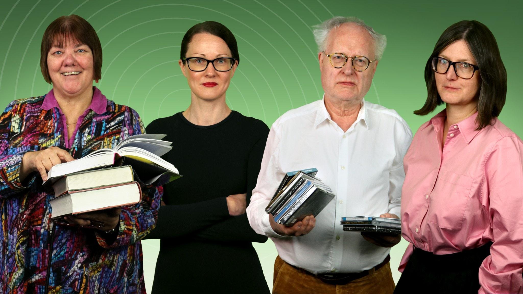 Evabritt Selén, Johanna Paulsson, Bengt Forsberg och Sara Norling.