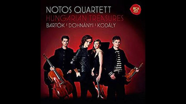 Notos-kvartetten spelar ungersk kammarmusik