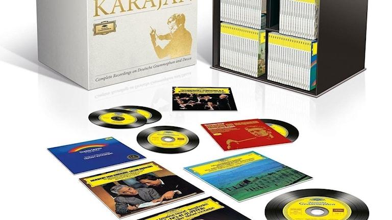 Alla Karajans inspelningar på DG och Decca