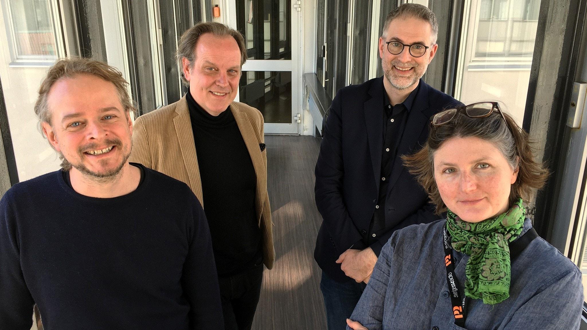 Panelen består denna vecka av P2:s Martin Gribbe och Sara Norling samt Tony Lundman, redaktör på Stockholms Konserthus. Programledare är Johan Korssell.