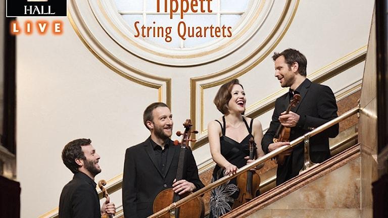Heath-kvartetten spelar Tippett