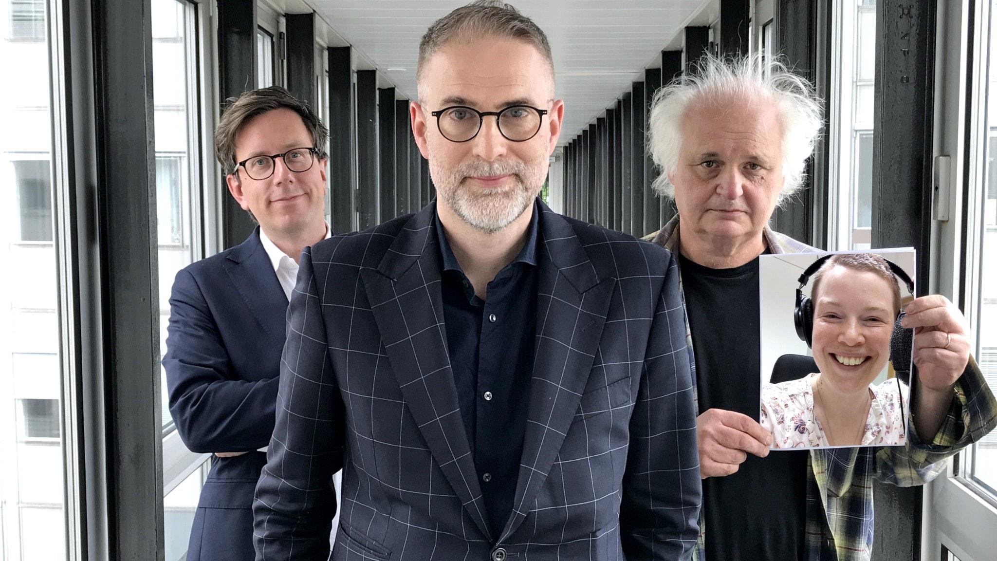Eric Schüldt, Johan Korssell, Göran Greider och Hanna Höglund