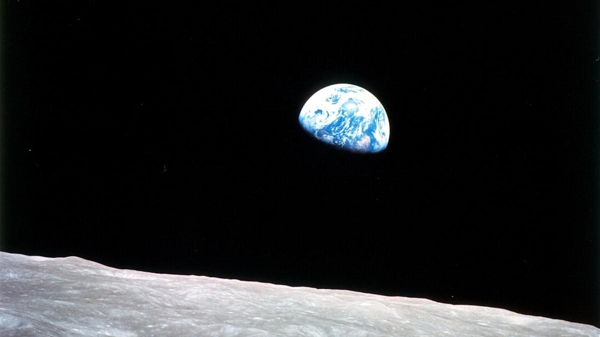 Foto fr NASA: Jorduppgång