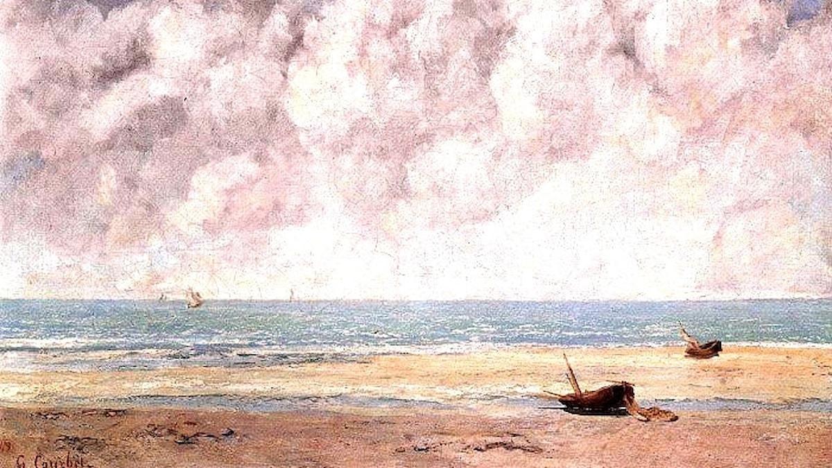 Gustave Corbert: Stilla hav (1869)