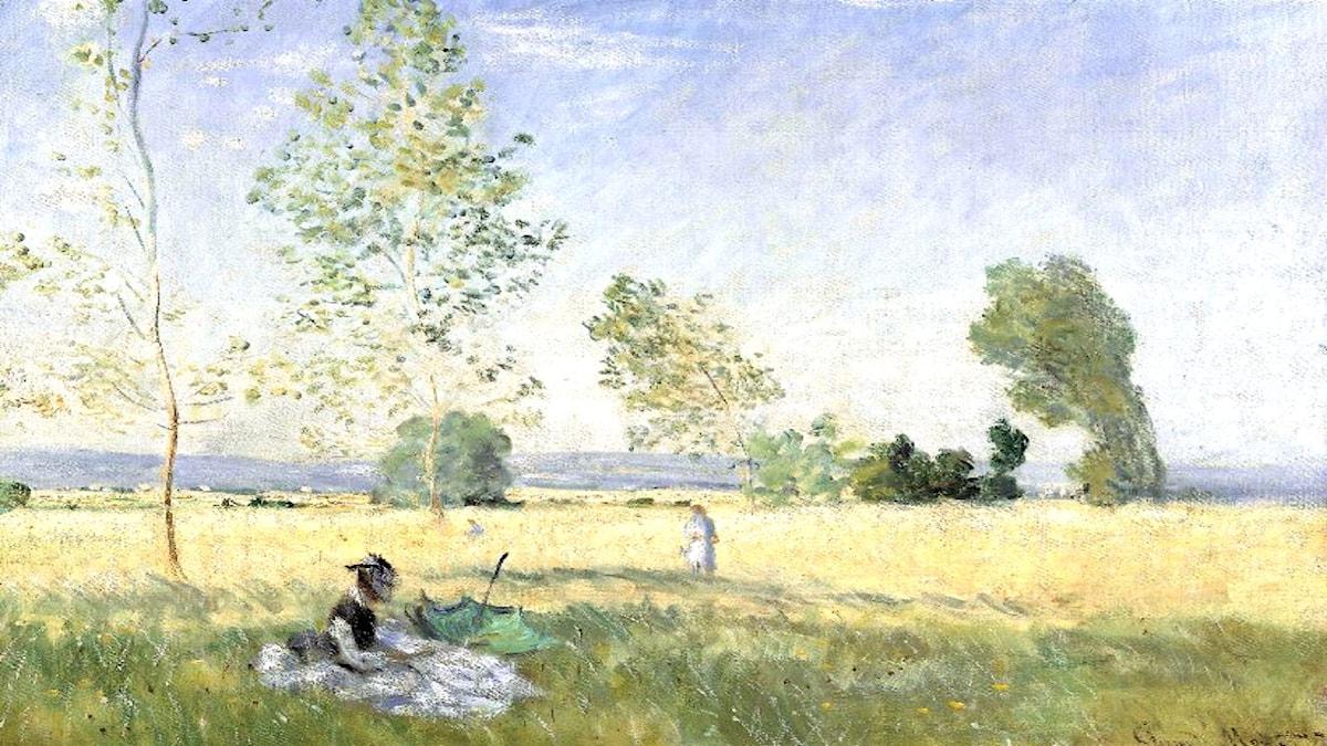 Été. Claude Monet, 1874