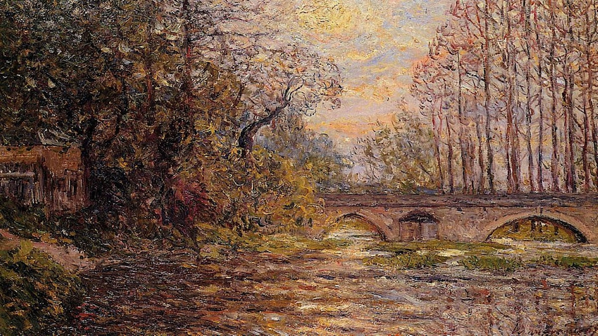 Sunset on the Loire (1907). Maxime Maufra
