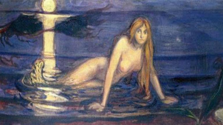 Tjeckisk opera med sjöjungfru från Bornholm.