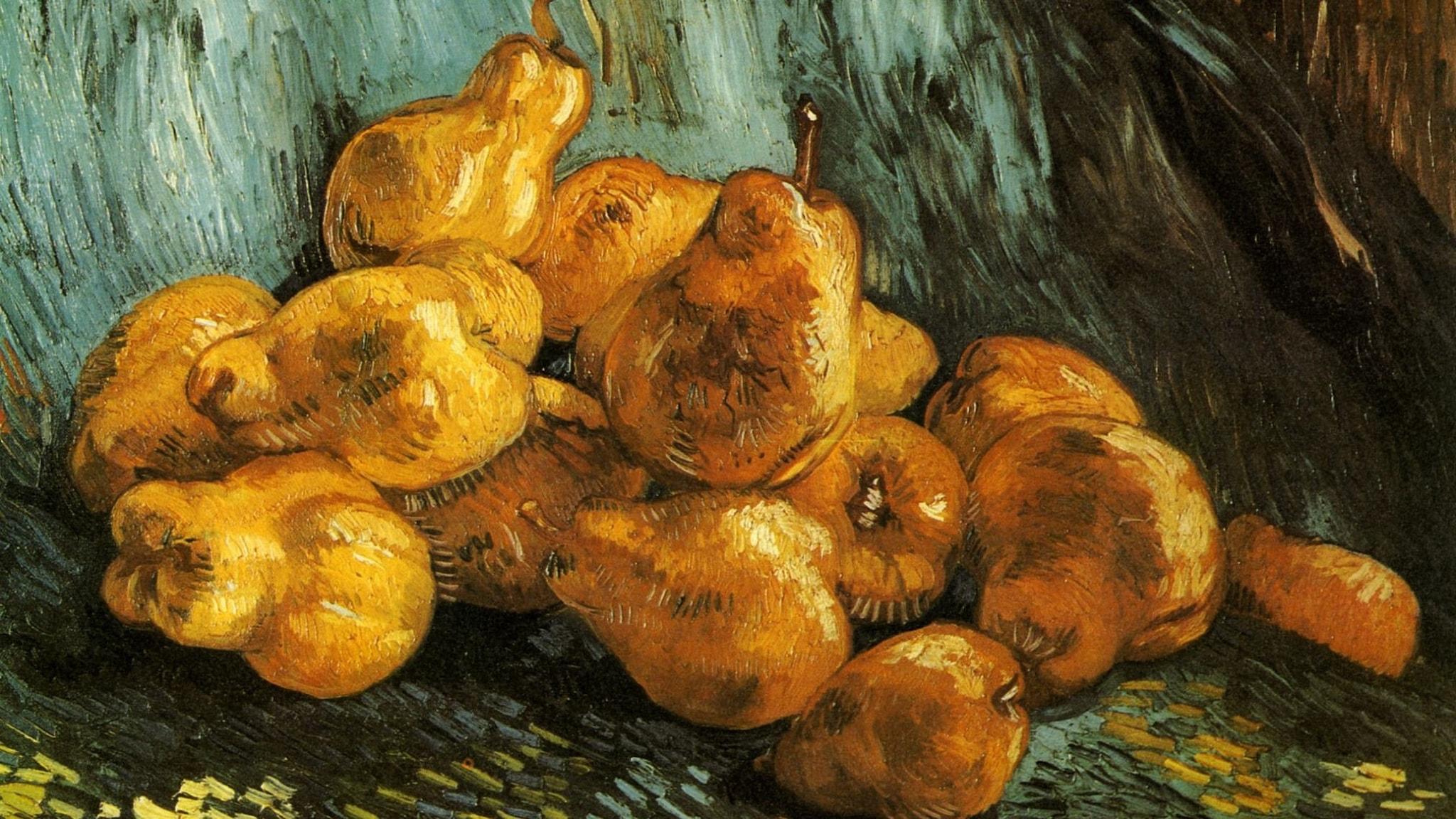 Stilleben med päron. Vincent van Gogh. 1888