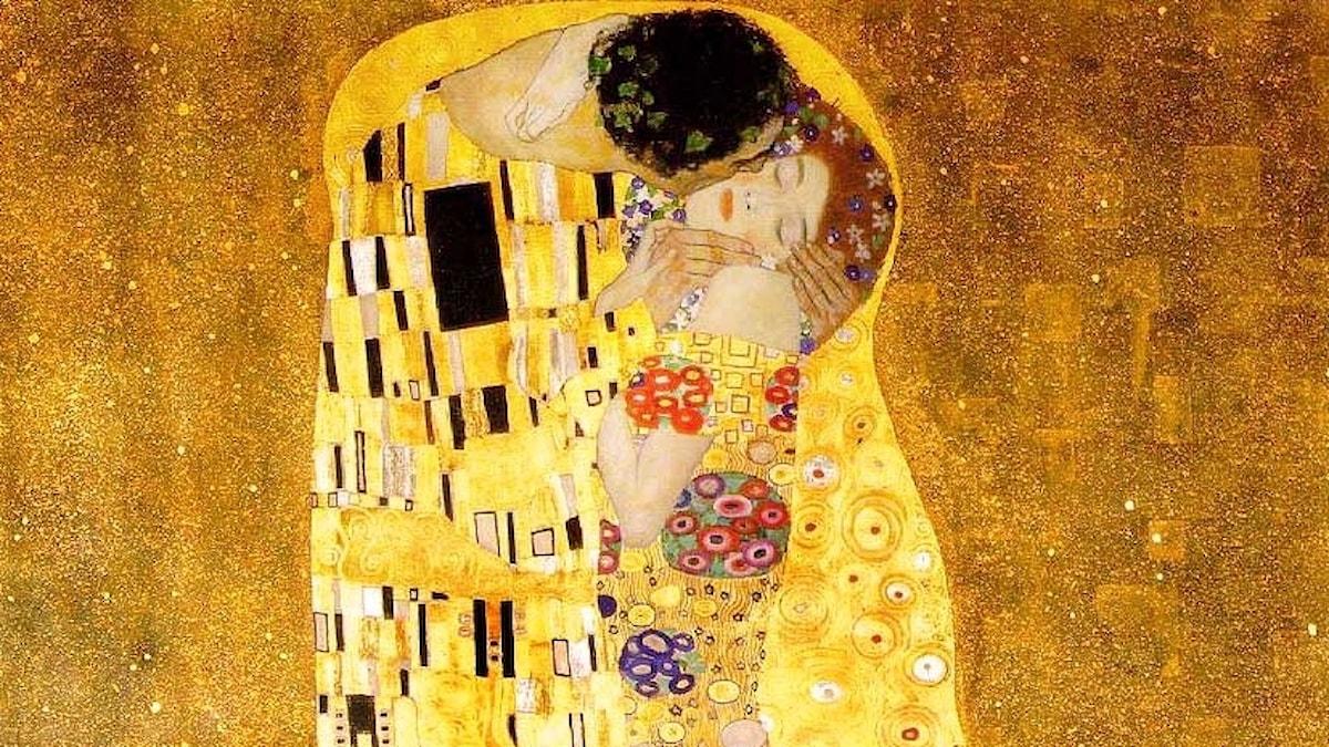 Gustav Klimt, Kyssen