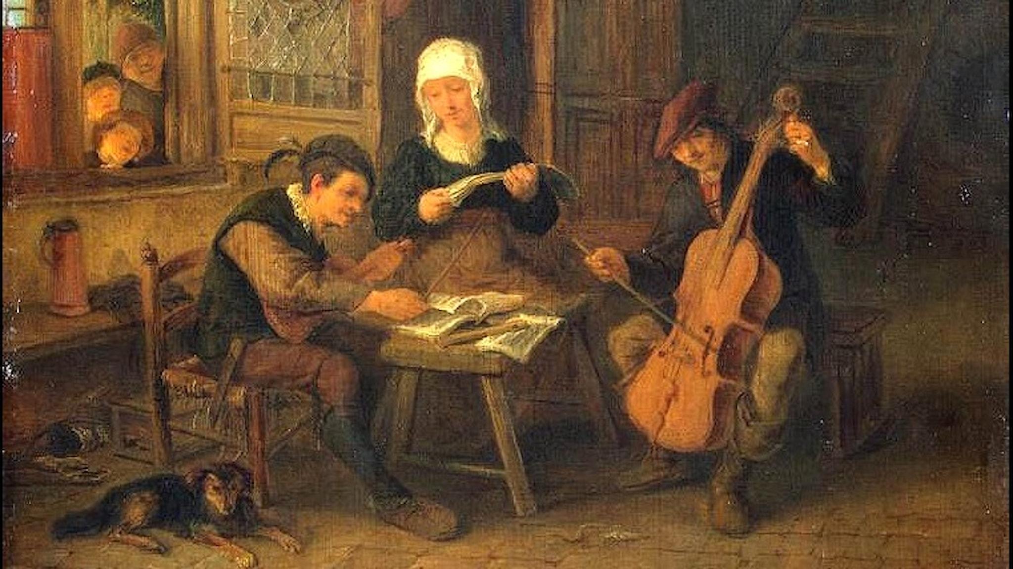 Bymusiker (Adriaen van Ostade, 1655).