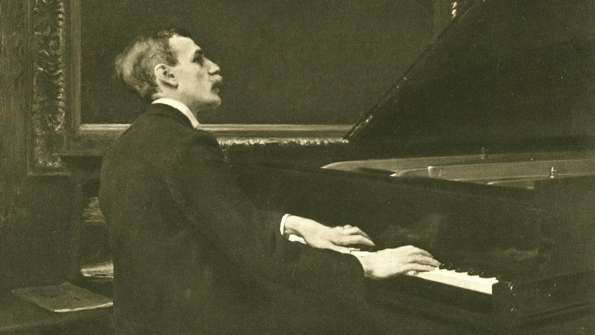 Wilhelm Stenhammar år 1900.