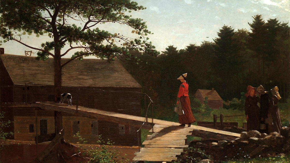 Old Mill (The Morning Bell). Winslow Homer, 1871.