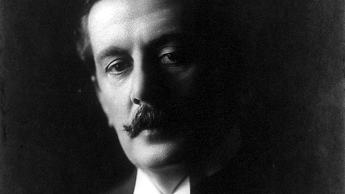 Giacomo Puccini, ca 1907.