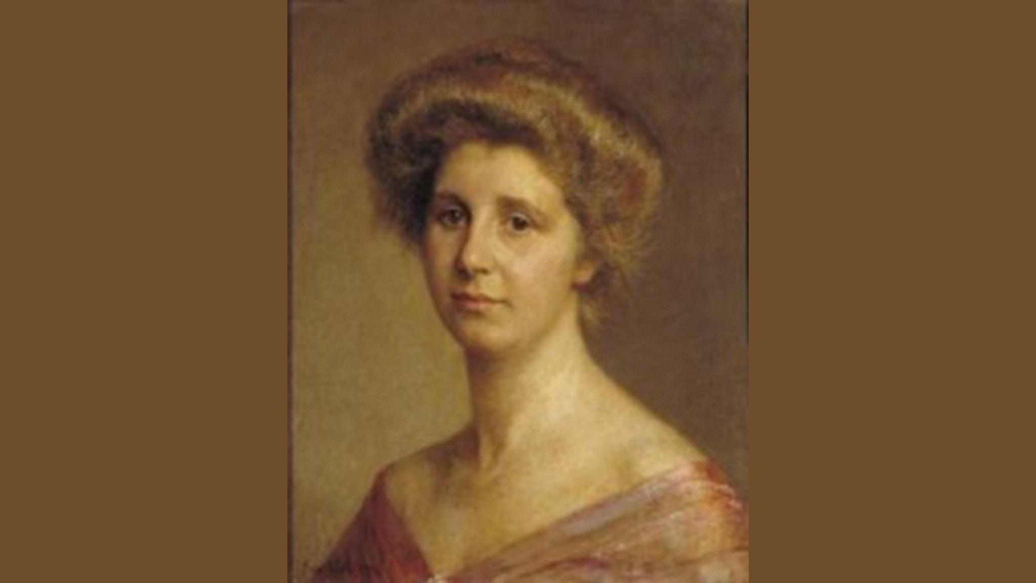 Porträtt av nederländska tonsättaren Rosy Wertheim (Jan Veth, 1884-1925).
