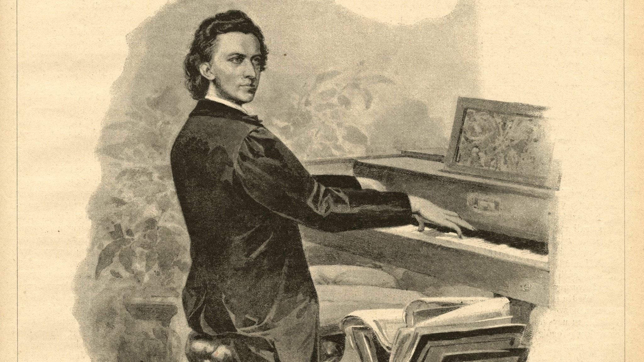 Frédéric Chopin (okänd konstnär, 1892)